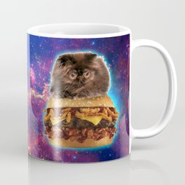 Burger Cat Coffee Mug