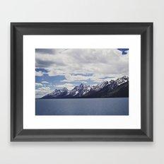 Grand Tetons: Colter Bay Framed Art Print