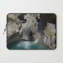 Spilling Through the Shadows Laptop Sleeve