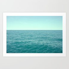 Lake Michigan  Art Print