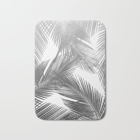 Palms BW Bath Mat