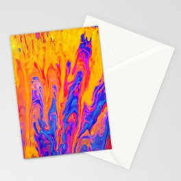 Over Active Brain Activity Fluid Abstract 60 Stationery Cards