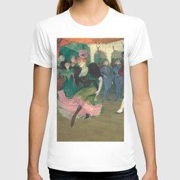 Henri de Toulouse-Lautrec - Marcelle Lender Dancing the Bolero in Chilperic T-shirt