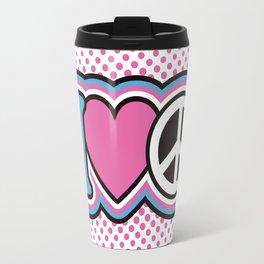I Love Peace Travel Mug