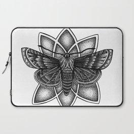 Moth Mandala Laptop Sleeve