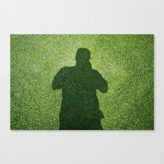Shadow Man Canvas Print