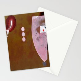 Wassily Kandinsky Circles in the Center Stationery Cards