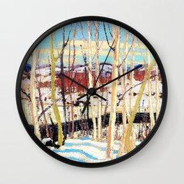 Tom Thomson - Open Water, Joe Creek - Digital Remastered Edition Wall Clock