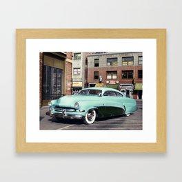 Hirohata Mercury Colorized Photo Framed Art Print