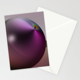 Metallic pearl Stationery Cards