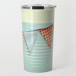Vintage Caravanning Travel Mug