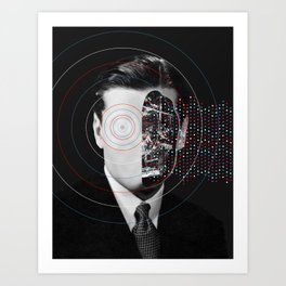 Artificial intelligence (2017) Art Print