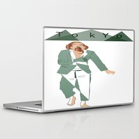 tokyo Laptop & iPad Skins featuring TOKYO by March Hunger