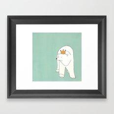 King of the Bears Framed Art Print
