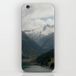 A Fjord in the Alps iPhone Skin