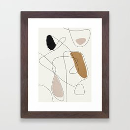 Thin Flow II Framed Art Print