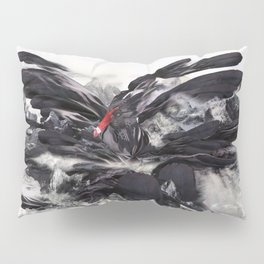 THE RISE OF THE BLACK SWAN Pillow Sham