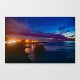 The Elegance of Sunset Cliffs Canvas Print