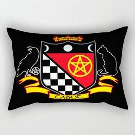 Cabot Crest Color/Black Rectangular Pillow