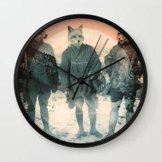 Fox Hunt Wall Clock