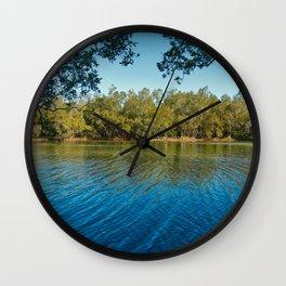 Pourmalong Creek, Lake Macquarie Wall Clock