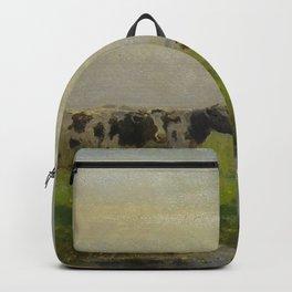 Bernardus Antonie van Beek - Cows in the Meadow Backpack