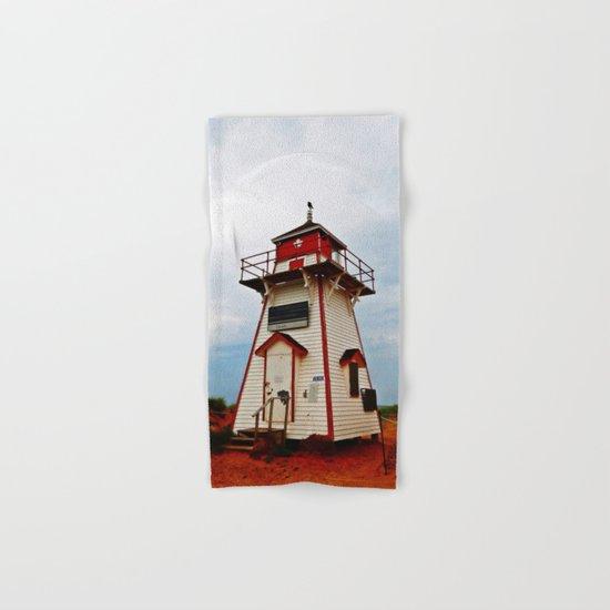 Crow on the Lighthouse Hand & Bath Towel