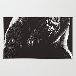 Bear, sketch 2 Rug