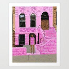 Solange in Brooklyn Art Print