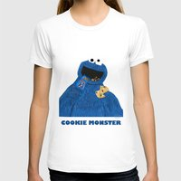 cookie monster T-shirts featuring Cookie Monster by Dano77