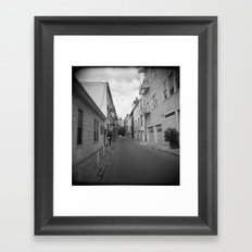 Streets of SF Framed Art Print