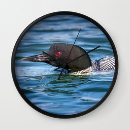 Mothers Day Loon Wall Clock