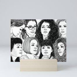 Orphan Black: Graeme's S5 Wrap Commission Mini Art Print