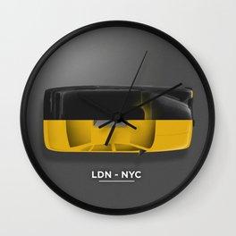 LDN-NYC Wall Clock