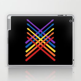 Retro Musician Drum Sticks Laptop & iPad Skin