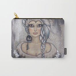 Winter's Owl Carry-All Pouch