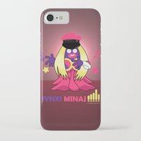 minaj iPhone & iPod Cases featuring Jynxi Minaj  by The Art of Leena Cruz :)