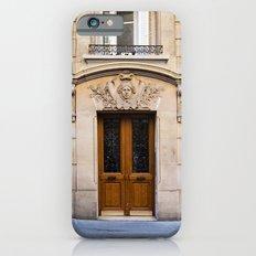PARIS DOORS: NO. 6 (Paris, France) iPhone 6s Slim Case