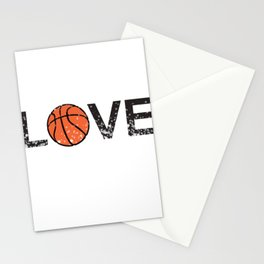 Basketball Love Triko Ball Gift Stationery Cards