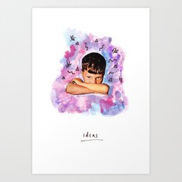 Ideas Art Print