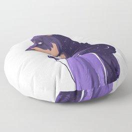 Night doberman Floor Pillow