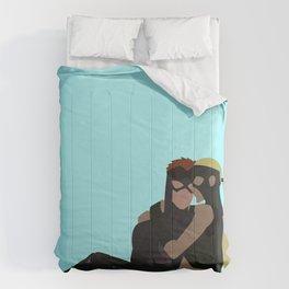 Spitfire New Year Minimalism Comforters