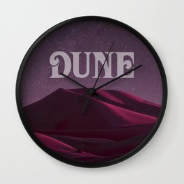 A Night on Arrakis Wall Clock