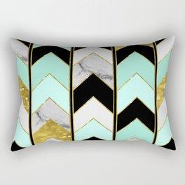 Chevron Lights Rectangular Pillow