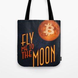 BTC to the Moon Tote Bag