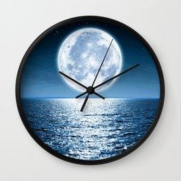 Giant Moon Wall Clock