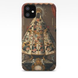 Black Madonna Mexican Painting, 1745 iPhone Case