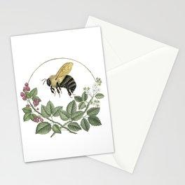 Bombus & Raspberries Stationery Cards