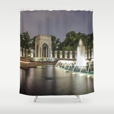 Glory of the Pacific Shower Curtain