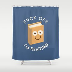 All Booked Up Shower Curtain